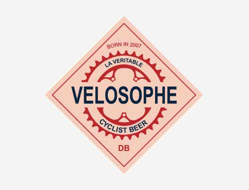 Velosophe cyclist beer